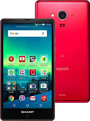 AQUOS SH-M02/RM02